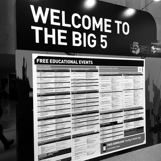 The BIG 5_The Largest Construction Event in the Middle East